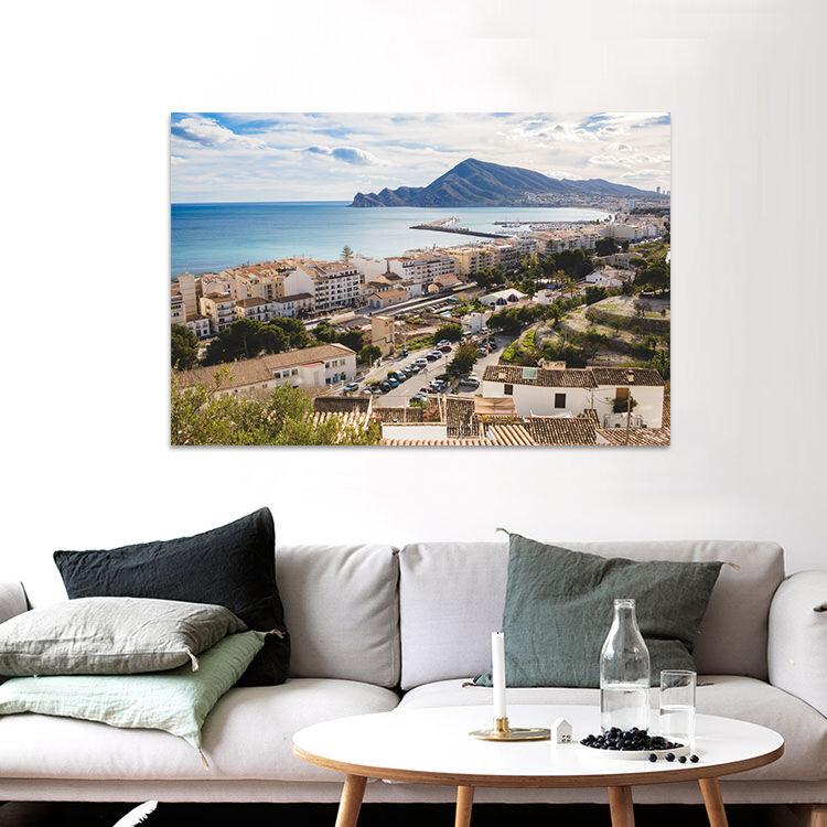 3D Städte Berg Fluss Ansicht 86 Fototapeten Wandbild BildTapete AJSTORE DE Lemon