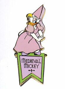 Le 100 Disney Auction Pin Medieval Mickey Fair Maiden Damsel Distress Daisy Duck Ebay
