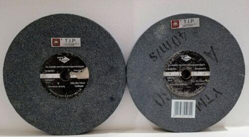 2 x Schleifstein 200 x 20 x 16 mm für Schleifbock Doppel Schleifer K 36
