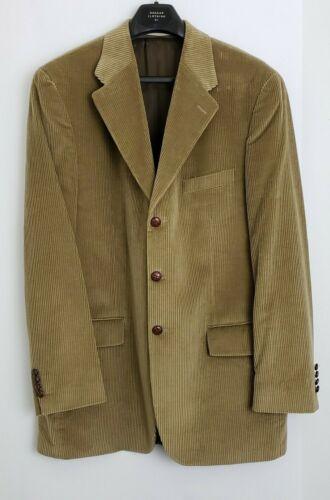 Chap Ralph Lauren Mens Blazer Jacket Beige Brown L