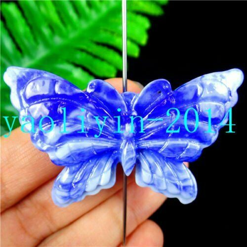 Multiple Choice Tridacna Butterfly Carved Heigth Holes Pendant 51*30*6mm AE5124