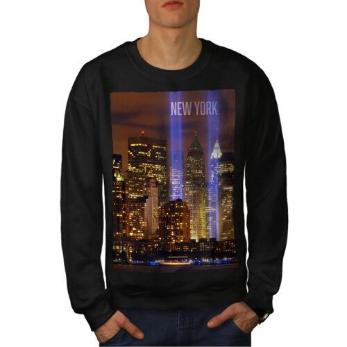 nera da York uomo Felpa Life New City xzfnW7WYd
