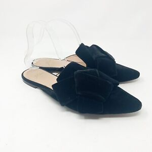 J CREW Womens POINTED TOE LOAFER SLIDES