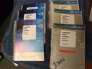 raymarine raytheon pathfinder radar scanner owners manual stk3096 rh ebay com raymarine radar owners manual raymarine e120 owners manual