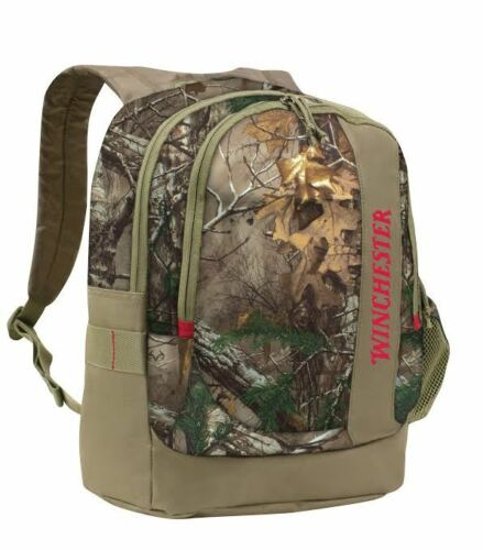 Winchester Black Canyon DayPack Backpack Camo Realtree Hunting School Hiking 7B4