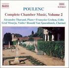Poulenc: Complete Chamber Music, Vol. 2 (CD, Apr-2000, Naxos (Distributor))