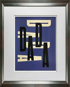 Paul-RAND-Original-SERIGRAPH-034-Dada-034-Limited-EDITION-1975-w-Custom-FRAMING