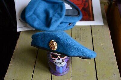 """béret /""""Drop/"""" Airborne Bleu Original Russe URSS militaire Vibration"""