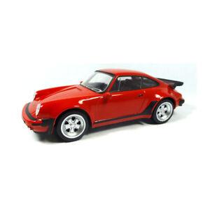 Norev-430200-Porsche-911-Turbo-3-3-rot-Youngtimers-Massstab-1-43-NEU