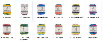 Yarn Bee Sugarwheel Cotton Mini Yarn Various Colors New Price Per Skein