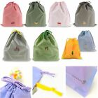 Waterproof Laundry Shoe Travel Pouch Portable Tote Drawstring Storage Bag