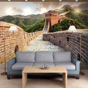 Entzuckend Das Bild Wird Geladen Fototapete Vlies An Der Chinesischen Mauer Fototapeten  Wohnzimmer