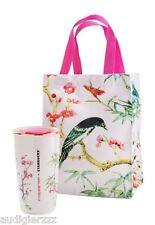 Limited Edition Starbucks + Vivienne Tam Tumbler & Tote Bag