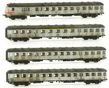 ROCO N 24200 vagoni ferrovie accanto a 2 KL 81275 DB ei009-8s5//4