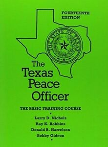 Details about The Texas Peace Officer 14th edition (no CD)