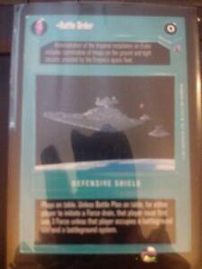 Star Wars CCG Reflections III Battle Order NrMint-MINT SWCCG