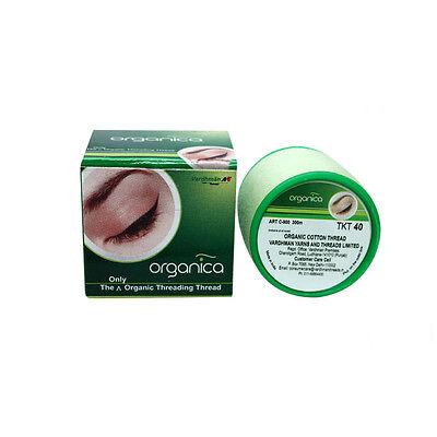 Organica Eyebrow Threading Antibacterial Cotton Threads Facial Hair Removal 300m