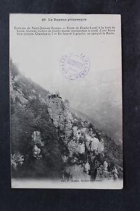 Tarjeta-postal-antigua-Alrededores-de-San-Juan-EN-ROYANS-Camino-Combe-Laval