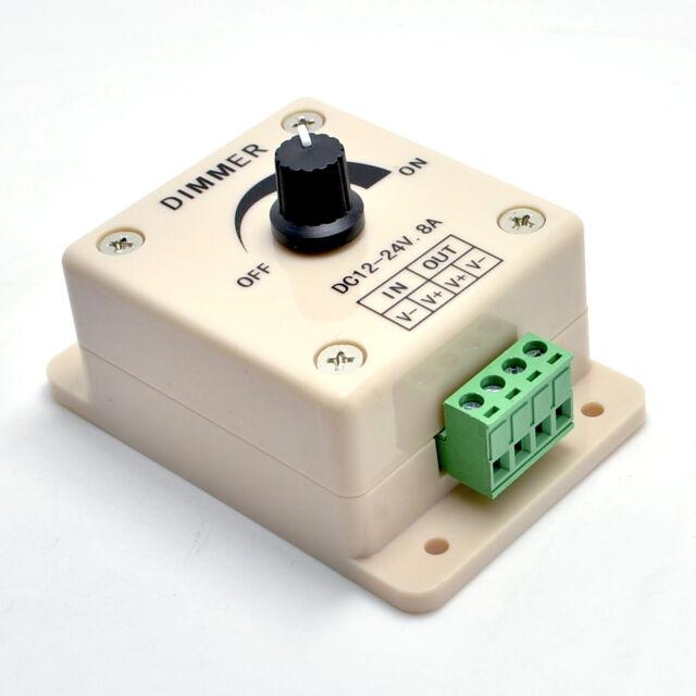 DC12V/24V 8A LED Switch Dimmer Cotroller for 3528&5050 led strip single color