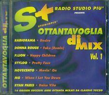 Studiopi' Ottantavoglia di Mix Vol. 1 - Radiorama/Styloo/Albert One/P.Lion Cd