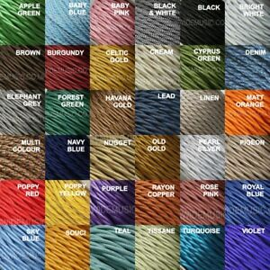 TWIST-2-Core-Braided-Fabric-Cable-Lighting-Lamp-Flex-Vintage-Choice-of-Colours