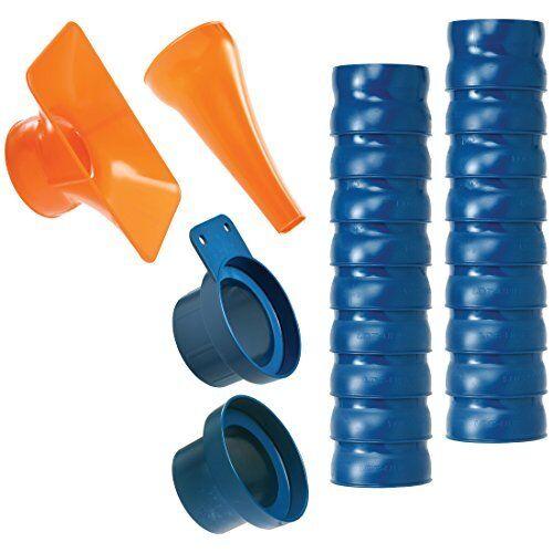 "Blue//Orange FREE2DAYSHIP TAXFREE 2.5/"" NEW Loc-Line 80813 Shop Vacuum Kit"