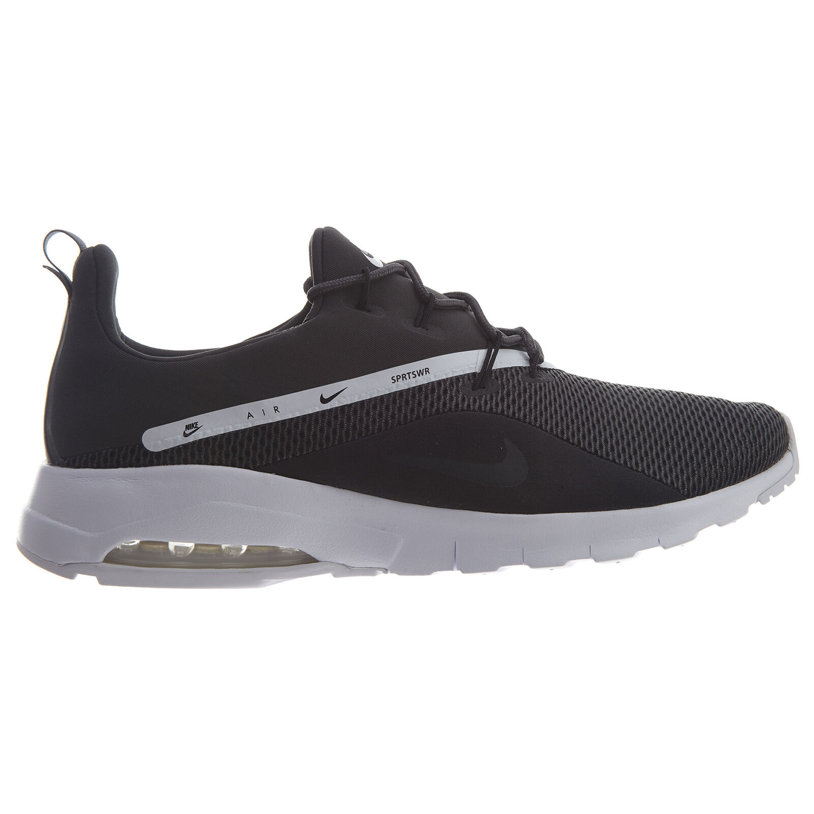 8900671c51 Nike Air Max Motion Racer 2 Mens AA2178-005 Black White Running shoes Size  10