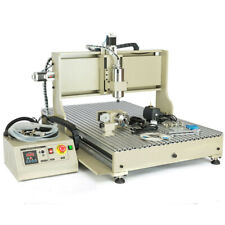 New Listingusb 4 Axis 1500w Cnc 6090 Router Milling Engraving Engraver 3d Drilling Machine