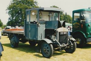CLASSIC THORNYCROFT TRUCK ON A PHOTO PHOTOGRAPH VEHICLE LORRY PICTURE ED1617.