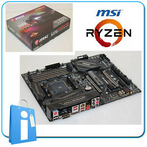 Placa-base-ATX-Ryzen-MSI-X370-GAMING-PRO-CARBON-ddr4-Socket-AM4-con-Accesorios