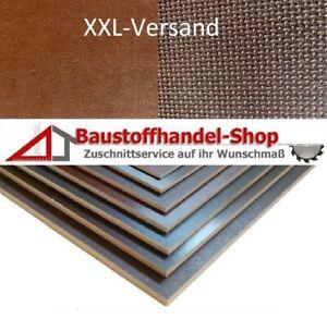 Siebdruckplatte 21mm Zuschnitt Multiplex Birke Holz Bodenplatte 150x120 cm