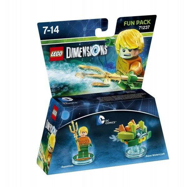 Lego Dimensions DC Comics Aquaman Aqua Watercraft Fun Pack# 71237 *New!
