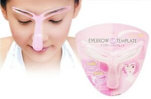 Eyebrow-template-Stencil-Shaping-DIY-make-up-tool-A