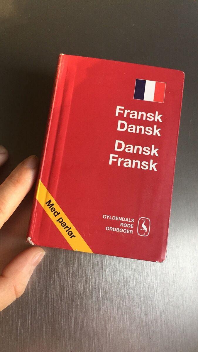 dansk fransk gyldendal