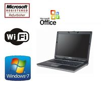 "Refurbished Dell Latitude 15.4"" C2D 2.0GHz 4GB RAM 1TB Windows 7 Pro 64 Laptop"