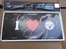 pittsburgh steelers license plate frame nfl