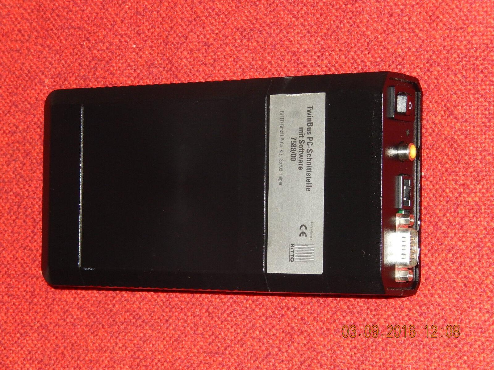 RITTO TwinBus PC-Schnittstelle mit Software 7588 00 geprüft, als Vorführgerät