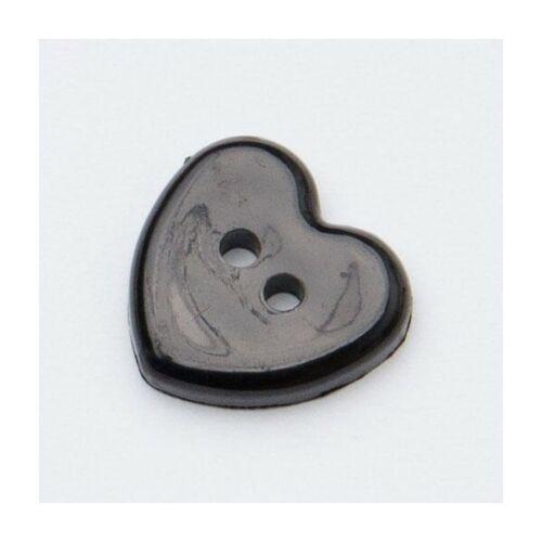 En forme de cœur 2 trous 13 mm Bouton en plastique artisanat coudre Baby