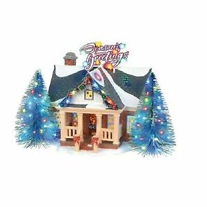 Last Day To Ship For Christmas 2019.Brite Lites Holiday House Department 56 Snow Village 2019 Ship 6003131