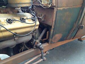 Ford F1 F 1 Steering Box Column 48 49 50 51 52 Rebuilt New
