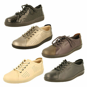 Padders-Galaxy-Mujer-Cuero-Comodo-Ancho-E-Ajuste-Zapatos