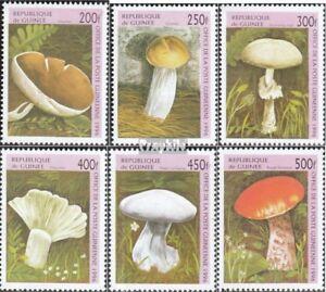 Never Hinged 1996 Mushrooms Guinea 1610-1615 Unmounted Mint Guinea