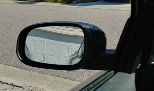 Mirror Glass w//Plate for Volvo C30 C70 S40 S60 S80 V50 V70 Passenger Right Side