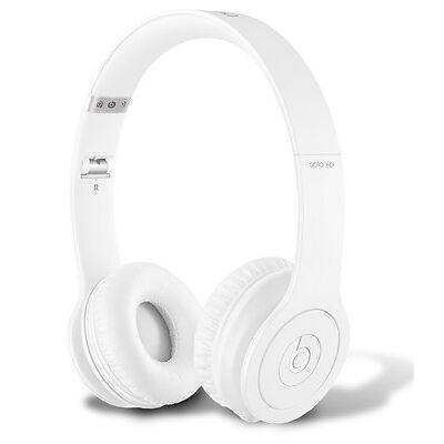 Original Beats by Dr. Dre Solo HD On-ear Kopfhörer Headphones Weiss Matt