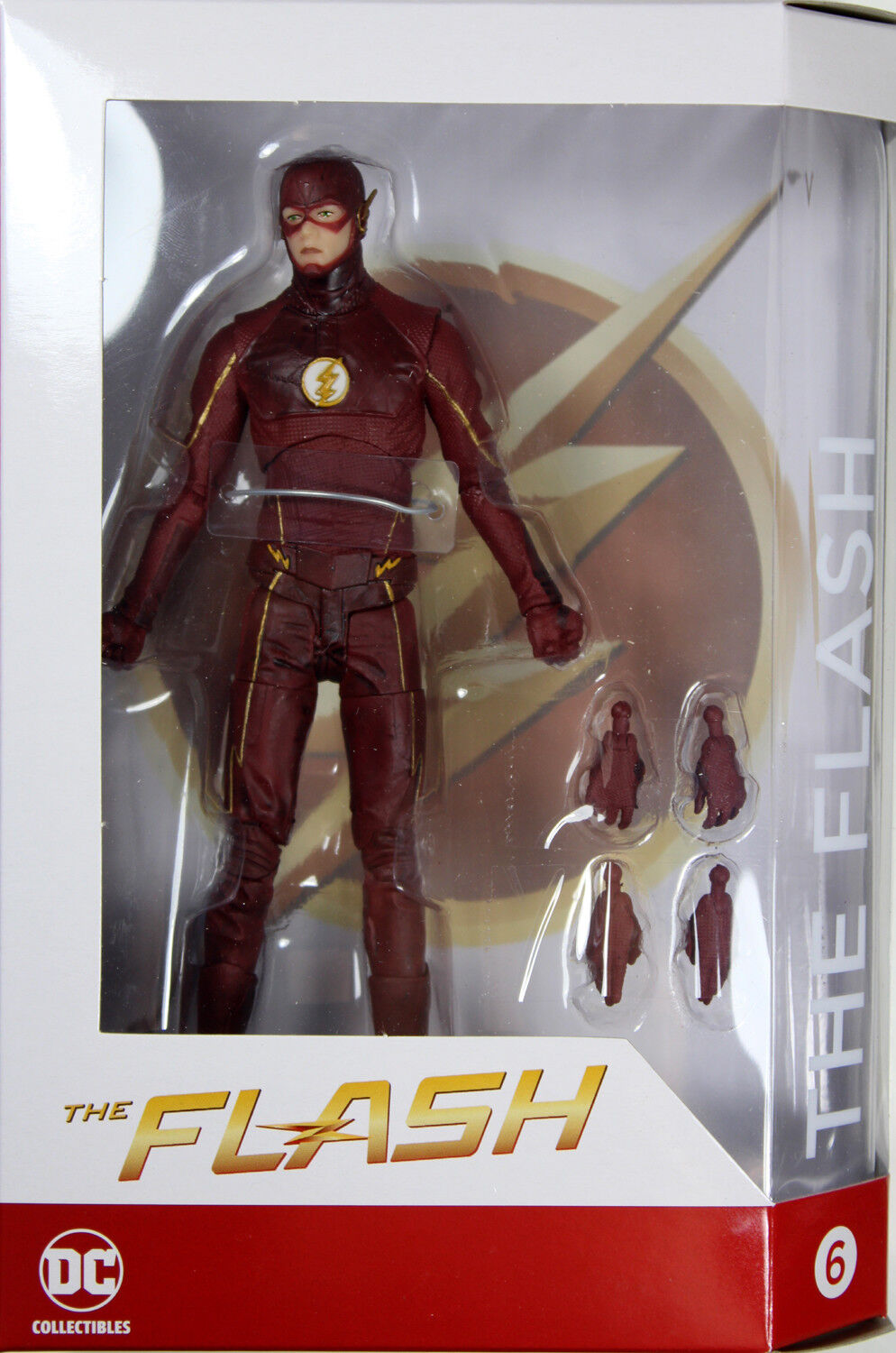 DC Collectibles  FLASH ACTION FIGURE (TV SEASON 3 COSTUME)  CW Version