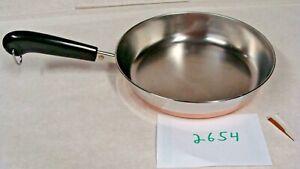 Revere-Ware-9-inch-Skillet-Stainless-Steel-Copper-Bottom-1801-series