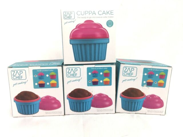 Zap Chef Cuppa Cake Microwave Single Cup Cake Maker Orange For Sale Online Ebay