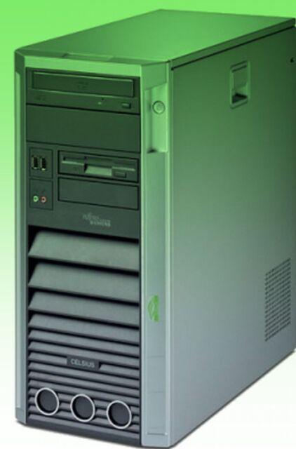 PC Fujitsu Siemens Celsius w340 processore Intel Pentium D 3,2 GHz 1gb DVD senza HDD