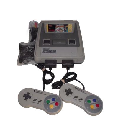 Super Nintendo Console + Mario All Stars + 2 Controller SNES PAL - Seller Refurb
