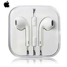 3.5mm earpods headphone headset untuk apple iphone 5/5 s/6/6 s ditambah ipad/ipo